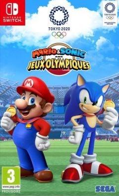 Jaquette de Mario & Sonic aux Jeux Olympiques de Tokyo 2020 Nintendo Switch
