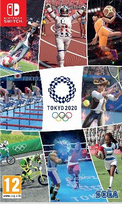 Jaquette de Tokyo 2020 Olympics : The Official Video Game Nintendo Switch
