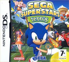 Jaquette de Sega Superstars Tennis DS