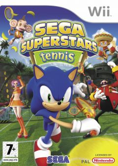 Jaquette de Sega Superstars Tennis Wii