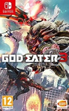 Jaquette de God Eater 3 Nintendo Switch