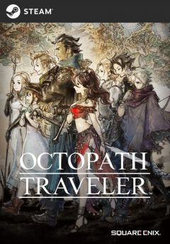 Jaquette de Octopath Traveler PC