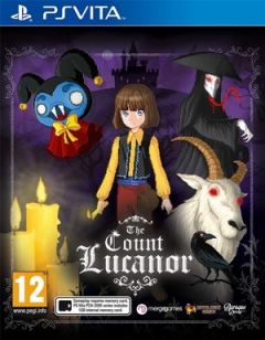 Jaquette de The Count Lucanor PS Vita