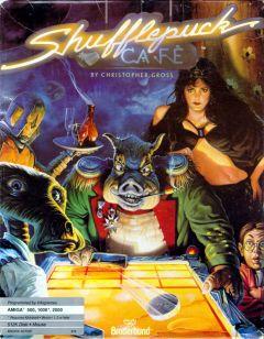 Jaquette de Shufflepuck Cafe Amstrad CPC