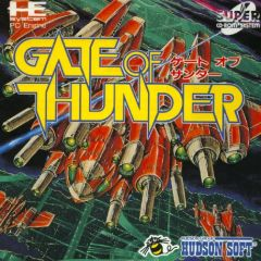 Jaquette de Gate of Thunder PC Engine