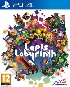 Jaquette de Lapis x Labyrinth PS4