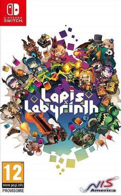 Jaquette de Lapis x Labyrinth Nintendo Switch