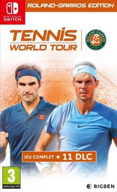 Jaquette de Tennis World Tour : Roland Garros Edition Nintendo Switch