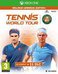 Jaquette de Tennis World Tour : Roland Garros Edition Xbox One