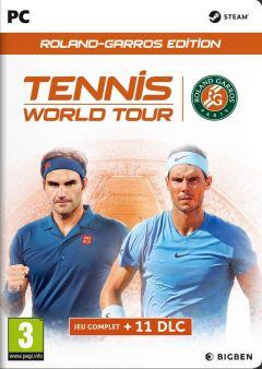 Jaquette de Tennis World Tour : Roland Garros Edition PC