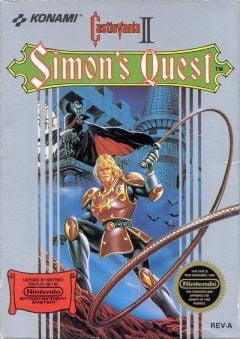 Jaquette de Castlevania II : Simon's Quest NES