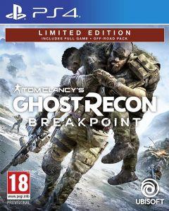 Jaquette de Ghost Recon : Breakpoint PS4