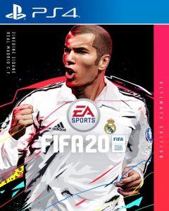 Jaquette de FIFA 20 PS4