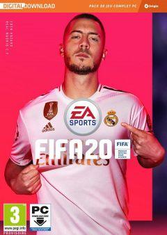 Jaquette de FIFA 20 PC