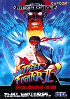 Jaquette de Street Fighter II' Special Champion Edition Mega Drive