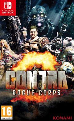 Jaquette de Contra : Rogue Corps Nintendo Switch