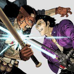 Jaquette de Travis Strikes Again : No More Heroes PS4