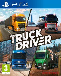 Jaquette de Truck Driver PS4