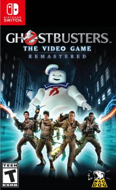 Jaquette de Ghostbusters : The Video Game Remastered Nintendo Switch