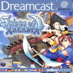 Jaquette de Skies of Arcadia Dreamcast