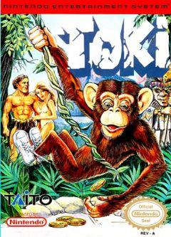 Jaquette de Toki NES