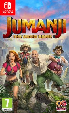 Jaquette de Jumanji : The Video Game Nintendo Switch
