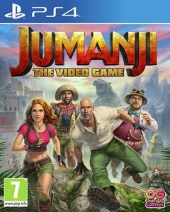 Jaquette de Jumanji : The Video Game PS4