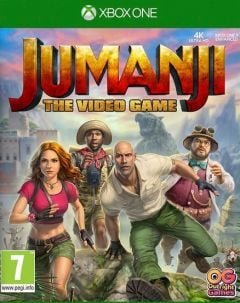 Jaquette de Jumanji : The Video Game Xbox One