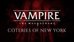 Jaquette de Vampire : The Masquerade - Coteries of New York PC