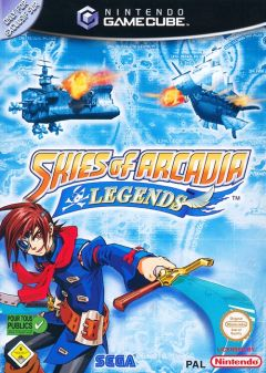 Jaquette de Skies of Arcadia Legends GameCube