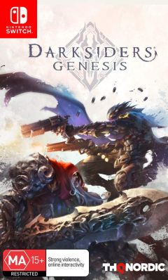 Jaquette de Darksiders Genesis Nintendo Switch
