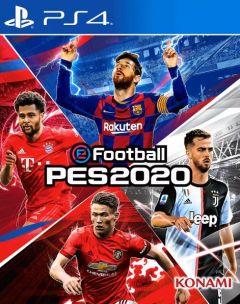 Jaquette de eFootball PES 2020 PS4