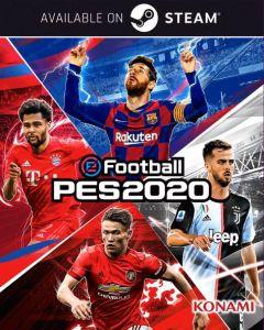 Jaquette de eFootball PES 2020 PC