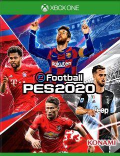 Jaquette de eFootball PES 2020 Xbox One