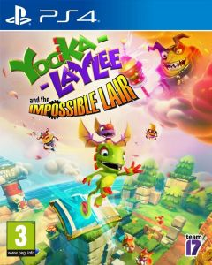 Jaquette de Yooka-Laylee and the Impossible Lair PS4