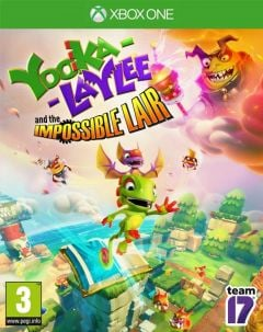 Jaquette de Yooka-Laylee and the Impossible Lair Xbox One