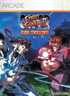 Jaquette de Super Street Fighter II Turbo HD Remix Xbox 360