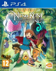 Jaquette de Ni No Kuni : La Vengeance de la Sorcière Céleste Remastered PS4