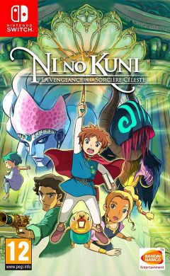 Jaquette de Ni No Kuni : La Vengeance de la Sorcière Céleste Nintendo Switch