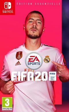 Jaquette de FIFA 20 Nintendo Switch