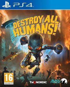 Jaquette de Destroy All Humans! Remake PS4