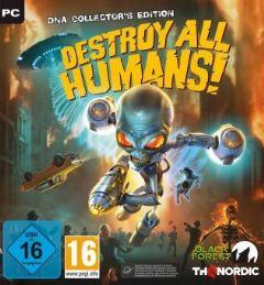 Jaquette de Destroy All Humans! PC