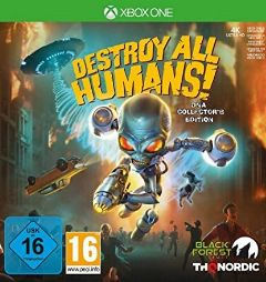 Jaquette de Destroy All Humans! Remake Xbox One