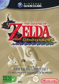Jaquette de The Legend of Zelda : The Wind Waker GameCube