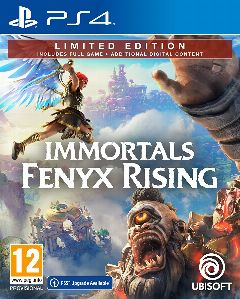 Jaquette de Immortals Fenyx Rising PS4