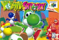 Jaquette de Yoshi's Story Nintendo 64
