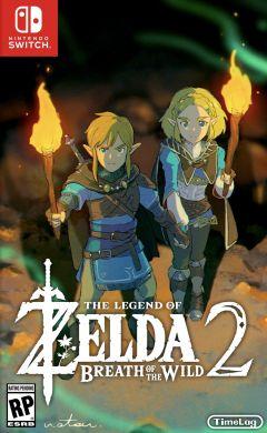 Jaquette de The Legend of Zelda Breath of the Wild 2 (nom provisoire) Nintendo Switch