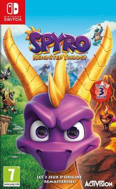 Jaquette de Spyro Reignited Trilogy Nintendo Switch