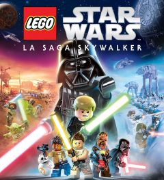 Jaquette de LEGO Star Wars : La Saga Skywalker Nintendo Switch