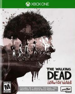 Jaquette de The Walking Dead : The Telltale Definitive Series Xbox One